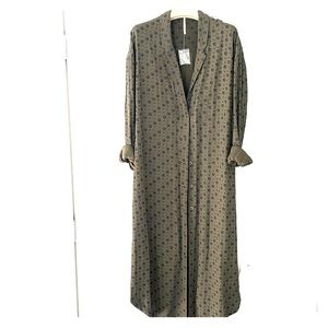 Free people brand new spring duster